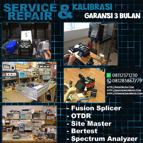 jasa service fusion splicer jakarta